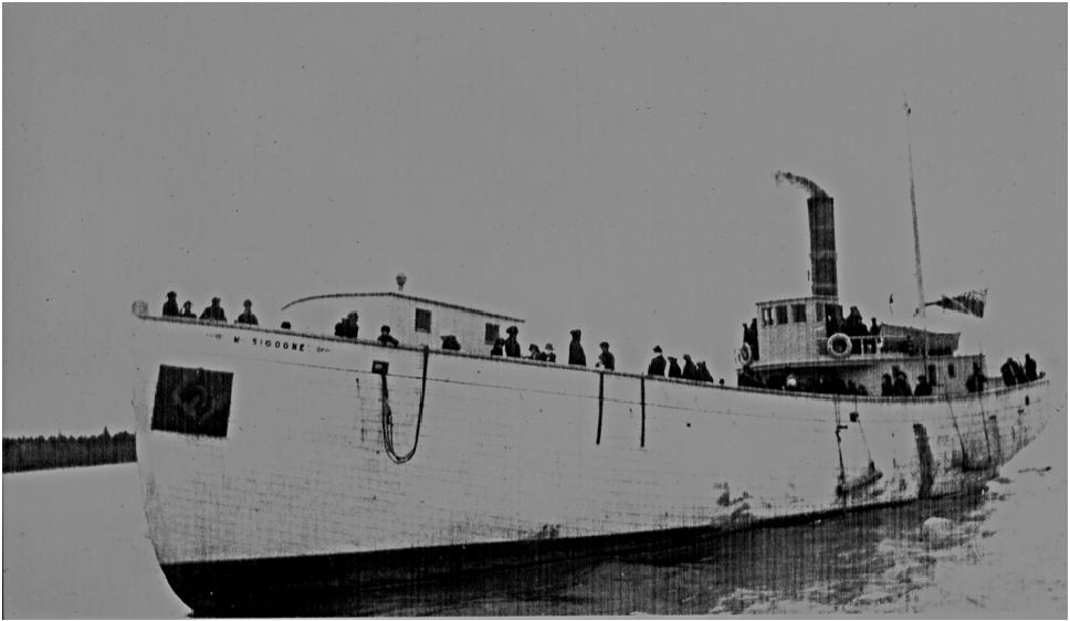 ship-churchpoint-m-sigogne-trial-run-gilberts-cove